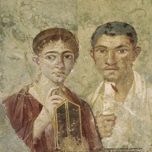 Portrait de deux époux provenant de Pompéi