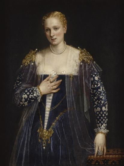Portrait de femme dit La Belle Nani. Avec cadre.-Paolo Veronese-Giclee Print