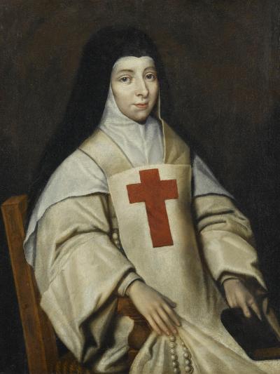 Portrait de Jacqueline de Sainte-Euphémie Pascal--Giclee Print
