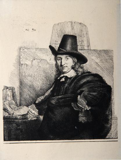 Portrait de Jean Asselyn (B277)-Amand Durand-Collectable Print