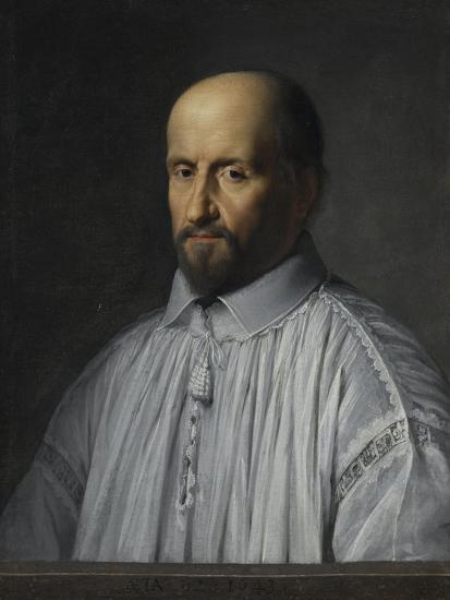 Portrait de Jean Duvergier de Hauranne, abbé de Saint-Cyran-Philippe De Champaigne-Giclee Print