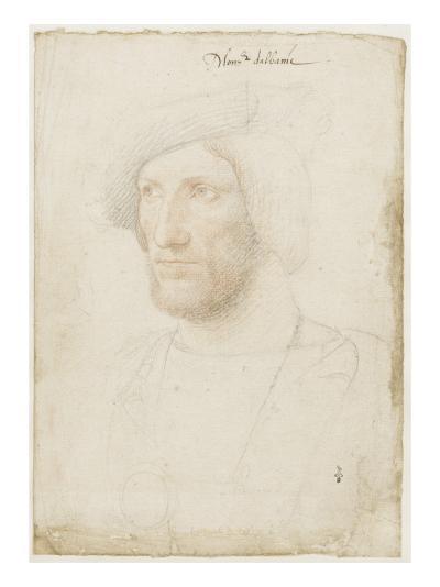 Portrait de Jean Stuart, duc d'Albany (1482-1536), fils de Jacque II roi d'Ecosse-Jean Clouet-Giclee Print