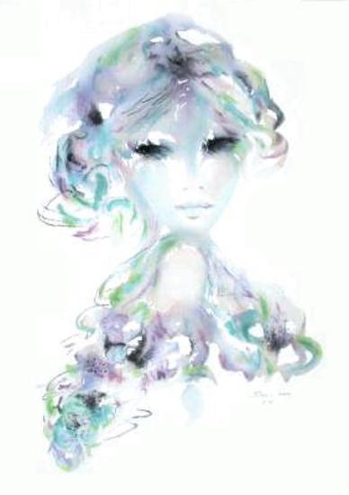 Portrait de jeune fille IV-Shan-Merry-Collectable Print