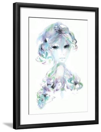 Portrait de jeune fille IV-Shan-Merry-Framed Collectable Print
