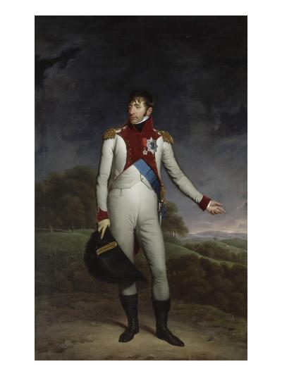 Portrait de Louis Bonaparte, roi d'Hollande en uniforme de colonel de la cavalerie hollandaise-Charles Howard Hodges-Giclee Print