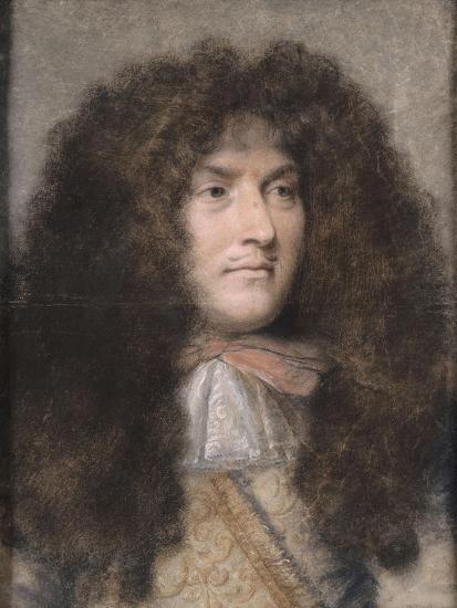 Portrait de Louis XIV-Charles Le Brun-Giclee Print