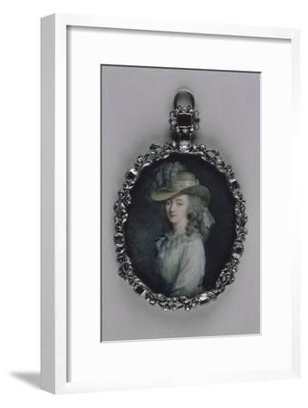Portrait de madame du Barry (1743-1793)-Elisabeth Louise Vigée-LeBrun-Framed Giclee Print