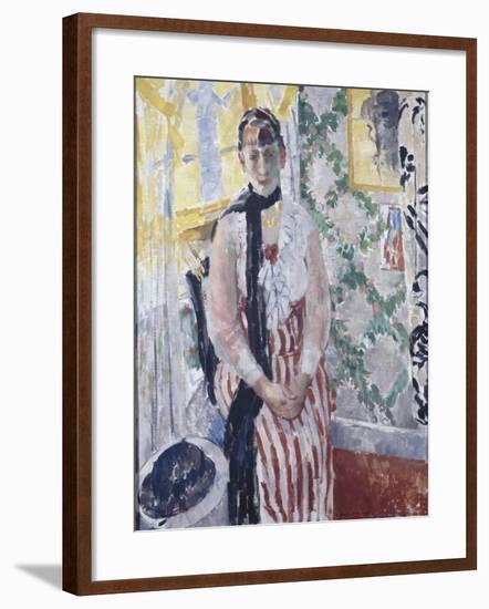 Portrait de madame Moreau Wouters-Rik Wouters-Framed Giclee Print