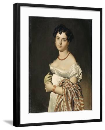 Portrait de madame Panckoucke-Jean-Auguste-Dominique Ingres-Framed Giclee Print