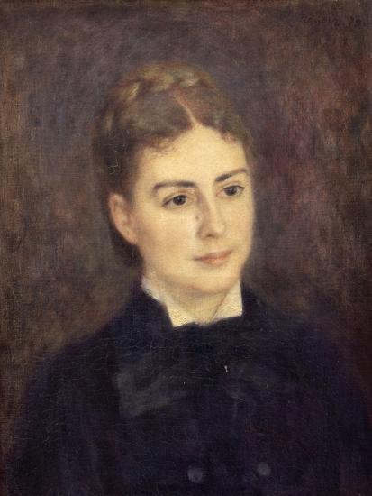 Portrait de madame Paul Bérard-Pierre-Auguste Renoir-Giclee Print