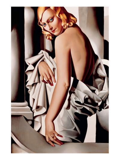 Portrait de Marjorie Ferry-Tamara de Lempicka-Premium Giclee Print