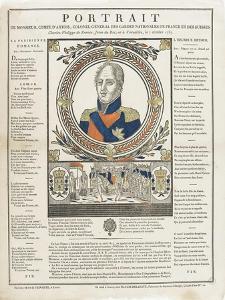 Portrait de monsieur comte d'Artois