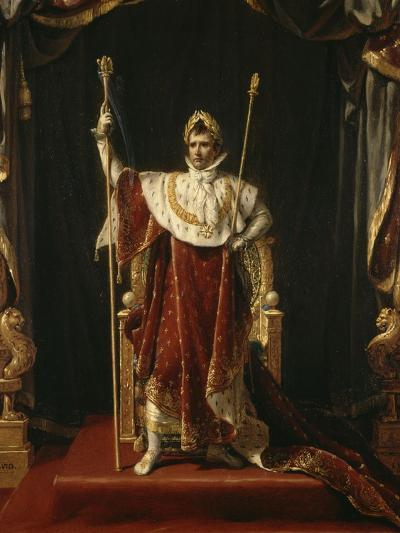 Portrait de Napoléon Ier en costume impérial-Jacques-Louis David-Giclee Print