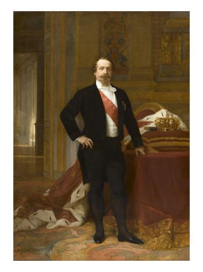 Portrait de Napoléon III-Alexandre Cabanel-Giclee Print