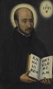 Portrait de saint Ignace de Loyola