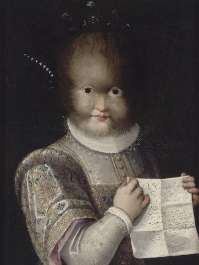 Portrait de Tonetta, fille de Gonsalvo-Lavinia Fontana-Giclee Print