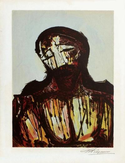 Portrait du Christ-David Alfaro Siqueiros-Premium Edition