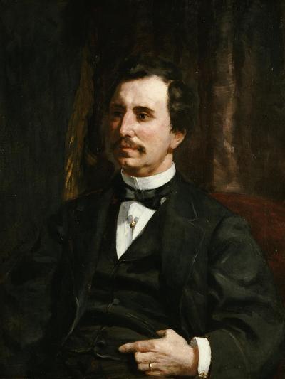 Portrait Du Colonel Barton Howard Jenks-Pierre-Auguste Renoir-Giclee Print