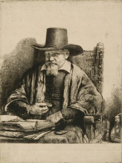 Portrait du docteur Arnold Tholinx ; 1 er état-Rembrandt van Rijn-Giclee Print