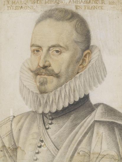 Portrait du marquis de Mirabel-Daniel Dumonstier-Giclee Print