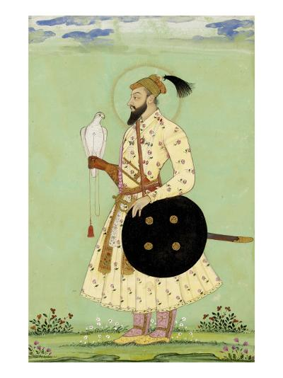 Portrait du prince Mohammed Uu Azzam Shah Alem--Giclee Print