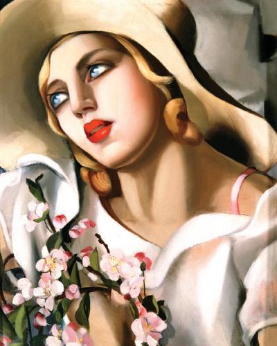 Portrait Fille-Tamara de Lempicka-Art Print