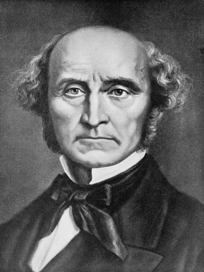 Portrait John Stuart Mill--Giclee Print