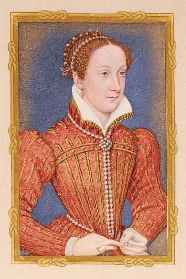 'Portrait - Mary, Queen of Scots', c16th century, (1904). Artists-Unknown-Giclee Print