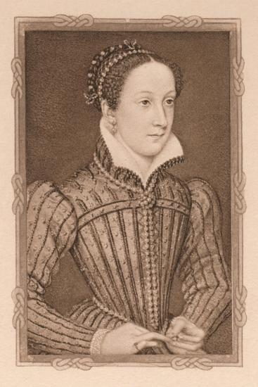 'Portrait - Mary, Queen of Scots', c16th century, (1904)-Unknown-Giclee Print