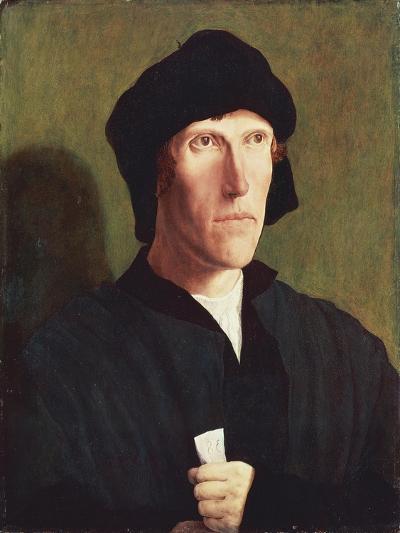 Portrait of 38-Year-Old Man, Ca 1521-Lucas van Leyden-Giclee Print