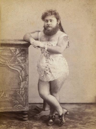 Portrait of a Bearded Woman--Photographic Print
