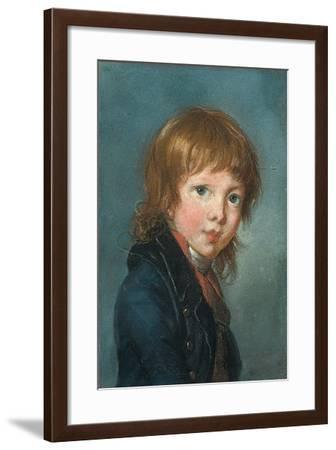 Portrait of a Boy, 1801-Elisabeth Louise Vigee-LeBrun-Framed Giclee Print