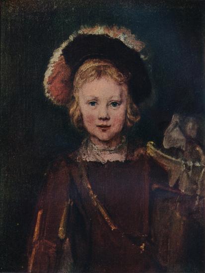 Portrait of a Boy, c1655. (1911)-Unknown-Giclee Print
