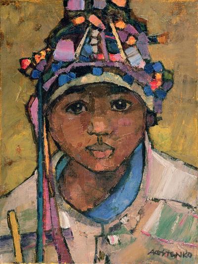 Portrait of a Boy-Anna Kostenko-Giclee Print