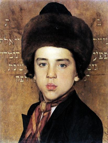 Portrait of a Boy-Isidor Kaufmann-Art Print