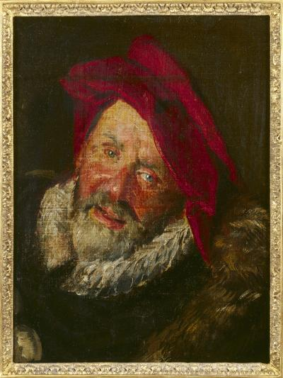 Portrait of a Buffoon-Frans Hals-Giclee Print