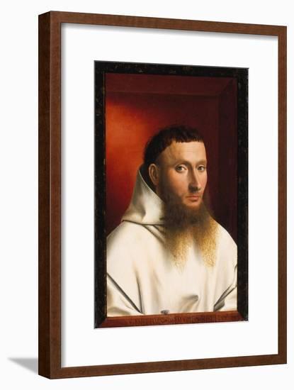 Portrait of a Carthusian, 1446-Petrus Christus-Framed Giclee Print