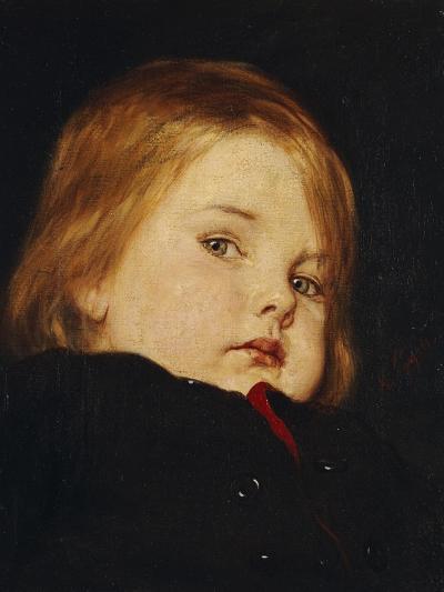 Portrait of a Child-Nicolas Gysis-Giclee Print