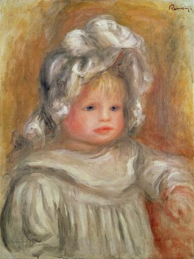 Portrait of a Child-Pierre-Auguste Renoir-Giclee Print