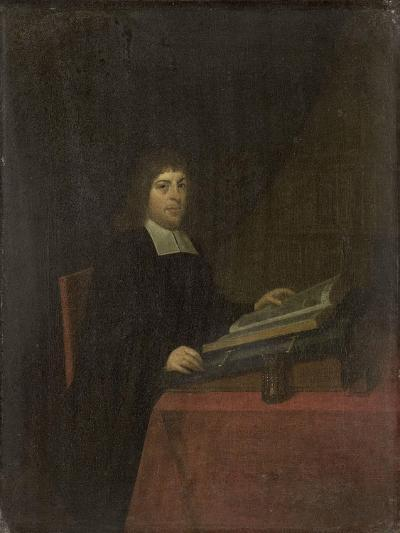 Portrait of a Clergyman-Roelof Koets II-Art Print