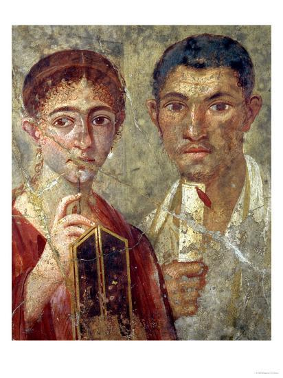 Portrait of a Couple, Thought to be Paquio Proculo and His Wife--Premium Giclee Print