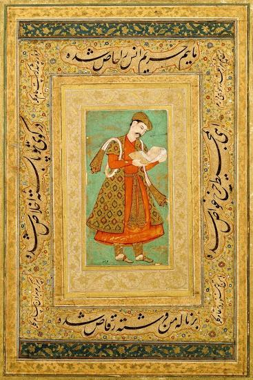 Portrait of a Courtier, C.1590-1605- Manohar-Giclee Print