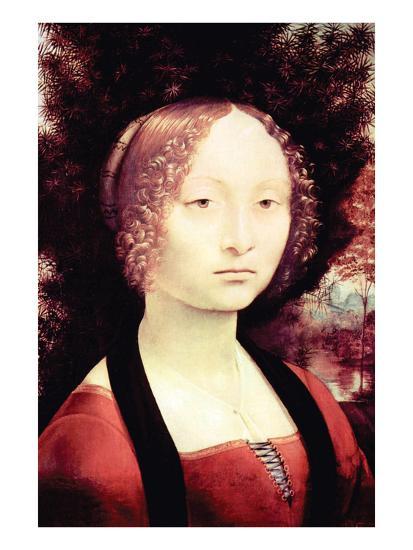 Portrait of a Dame-Leonardo da Vinci-Premium Giclee Print
