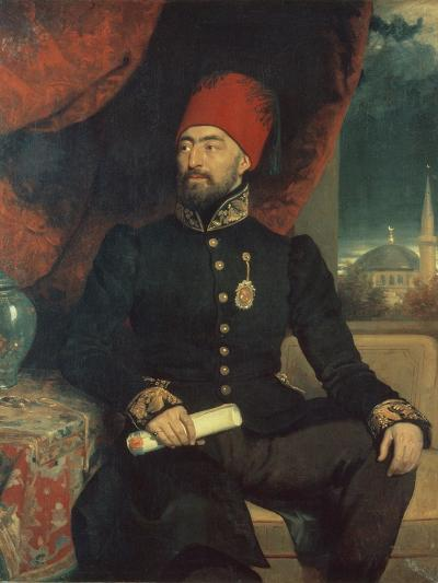 Portrait of a Dignitary in Turkish Costume-George Dawe-Giclee Print