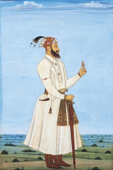 Portrait of a Dignitary, Official or Person from Siraj Ud-Daulah's Court--Giclee Print