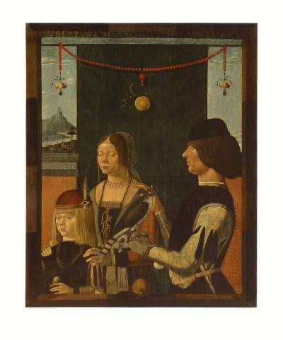 Portrait of a Family-Baldassare Estense-Collectable Print