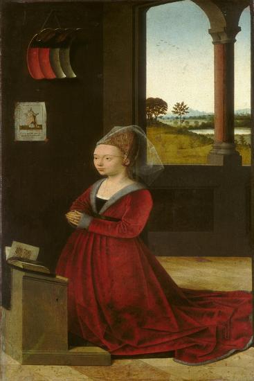 Portrait of a Female Donor, c.1455-Petrus Christus-Giclee Print