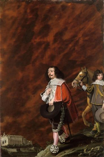 Portrait of a Gentleman in Italy, 1630-Wolfgang Heimbach-Giclee Print