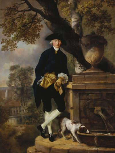 Portrait of a Gentleman-Thomas Gainsborough-Giclee Print