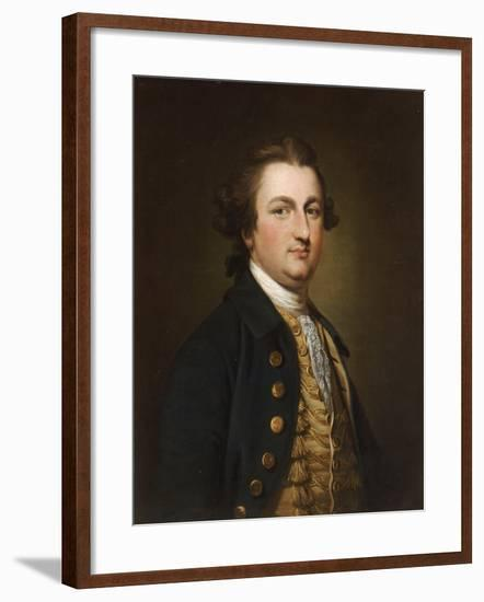 Portrait of a Gentleman-Francis Cotes-Framed Giclee Print